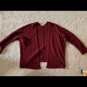 Maroon cozy fit sweater